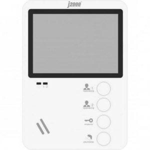 Монитор видеодомофона J2000-DF-ЕКАТЕРИНА (белый)