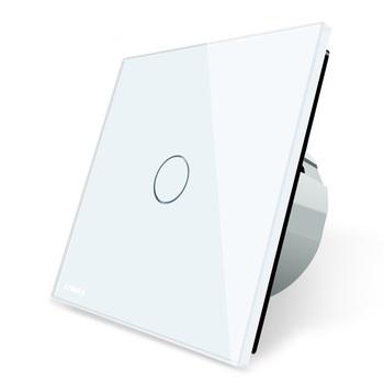Cенсорный выключатель VL-C701 Livolo белый